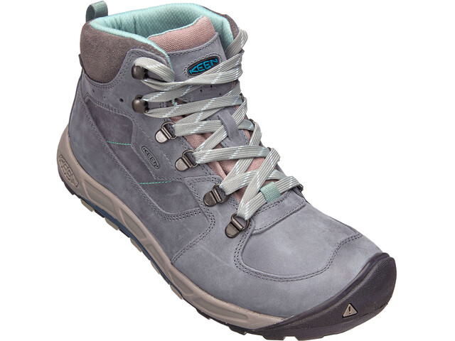 Keen Westward Leather WP Mid Shoes Women turbulance/ stormy weather